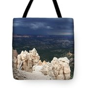 Rough Skys Over Bryce Canyon Tote Bag
