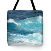 Rough Waves 1 Offshore Tote Bag