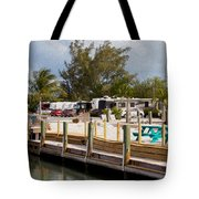 Roughing It In The Keys Tote Bag