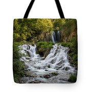 Roughlock Falls South Dakota Tote Bag