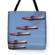 Roulettes In Tight Formation Tote Bag
