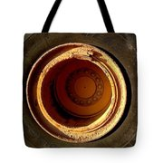 Round And Round Tote Bag by Marlene Burns