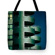 Round And Round Up And Down Tote Bag