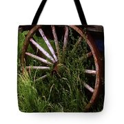 Round And Rusty Tote Bag
