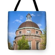 Round Lutheran Church In Amsterdam Tote Bag