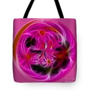 Round Pink And Pretty By Kaye Menner Tote Bag
