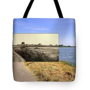 Round Pond In Little Compton Rhode Island Tote Bag