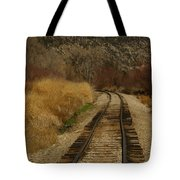 'round The Bend Tote Bag