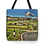 Round The Bend Tote Bag