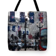Round The Piccadilly Tote Bag