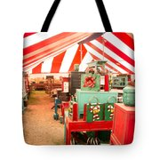 Round Top Texas Under The Big Tent Tote Bag
