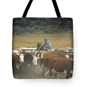 Cattle Round Up Patagonia Tote Bag