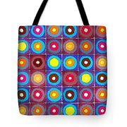Round Up The Squares Tote Bag