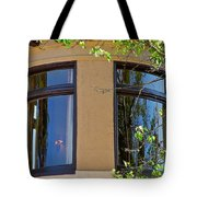 Rounded Victorian Window Tote Bag