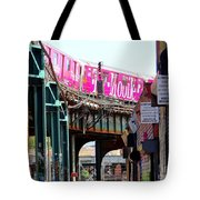 Roundin The Bend Tote Bag