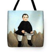 Rousseau's Boy On The Rocks Tote Bag