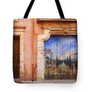 Roussillon Door Tote Bag