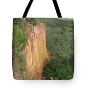 Roussillon Red Rock Landscape Tote Bag