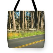 Route 1, Mendocino, California Tote Bag