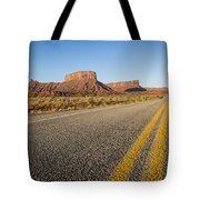 Route 128 Near Castle Valley Tote Bag
