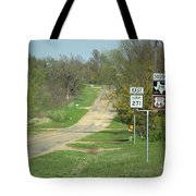 Route 66 - Alanreed Texas Tote Bag