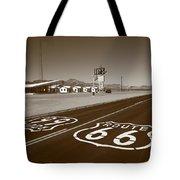 Route 66 - Amboy California Tote Bag