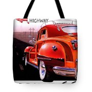 Route 66 America's Highway Tote Bag