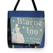 Route 66 - Blarney Inn Tote Bag