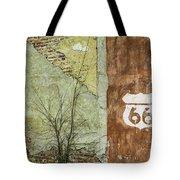 Route 66 Brick And Mortar Tote Bag