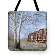 Route 66 Bridge Tote Bag