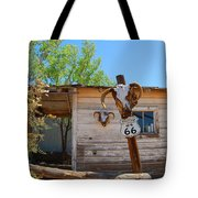 Route 66 Carcus Tote Bag