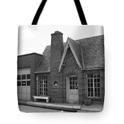 Route 66 - Chandler Oklahoma Gas Station Tote Bag