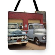 Route 66 Classic Cars Tote Bag