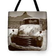 Route 66 - Classic Chevy Tote Bag