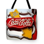 Route 66 Coca Cola Tote Bag