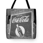 Route 66 - Coca Cola Ghost Mural Tote Bag
