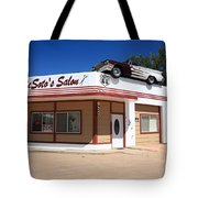 Route 66 - Desoto's Salon Tote Bag