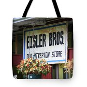 Route 66 - Eisler Brothers Old Riverton Store Tote Bag
