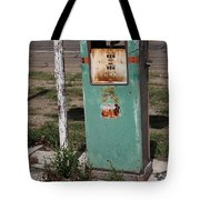 Route 66 Gas Pump - Adrian Texas Tote Bag