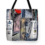 Route 66 Gas Station Tote Bag