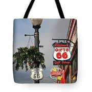 Route 66 In Williams Arizona Tote Bag
