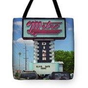 Route 66 - Metro Diner Tote Bag