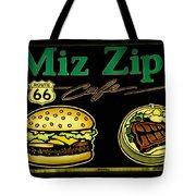 Route 66 Miz Zips Tote Bag
