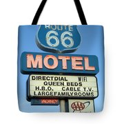 Route 66 Motel Sign 3 Tote Bag