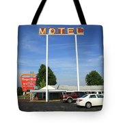Route 66 - Munger Moss Motel Tote Bag