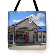 Route 66 - Odell Gas Station 7 Tote Bag
