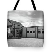 Route 66 - Odell Gas Station Tote Bag