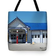 Route 66 Odell Il Gas Station 01 Tote Bag