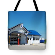 Route 66 Odell Il Gas Station 02 Tote Bag