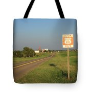 Route 66 - Oklahoma Tote Bag